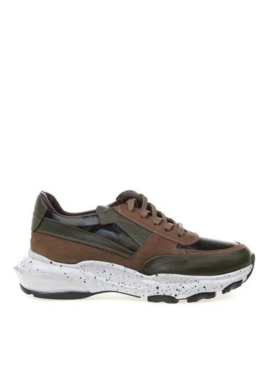 Fabrika Fabrika Hope Termo N 5 Cm Topuk Kamuflaj Detaylı Erkek Sneakers Haki